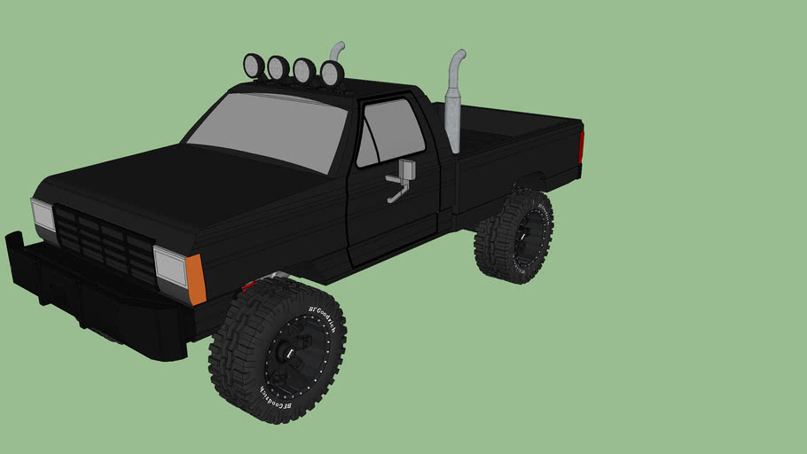 1978 f 100 pickup truck with additional