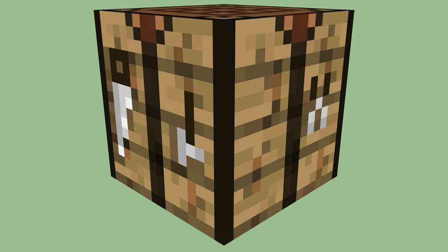 Minecraft Crafting Table By Zapperier 3d Warehouse