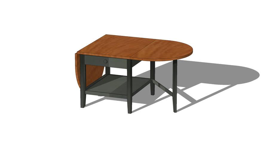 table basse ikea arkelstorp noir