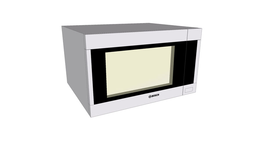 bosch microwave oven hmb5051 3d warehouse