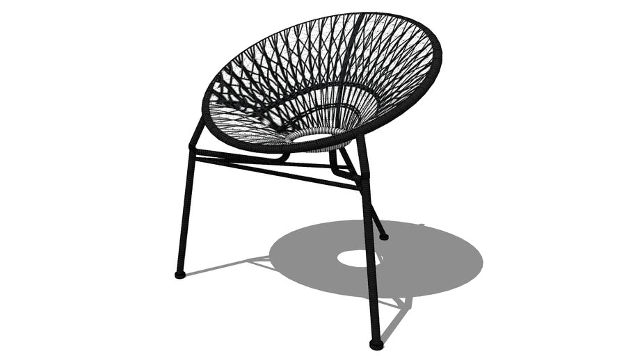 itapema fauteuil de jardin empilable en