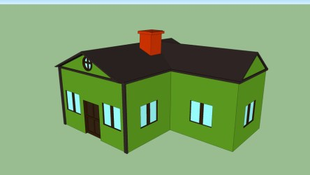 casa cartoon 3D Warehouse