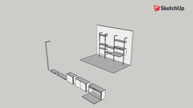 habitat 3d warehouse