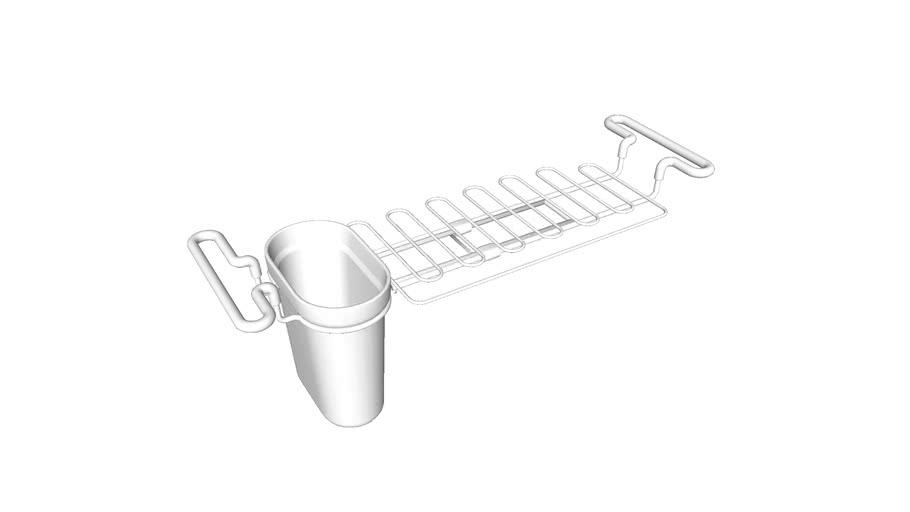 k 5473 kitchen sink utility rack 3d