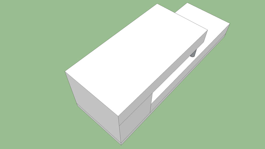 meuble tele blanc conforama modele