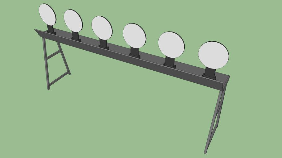 steel plate rack target 3d warehouse