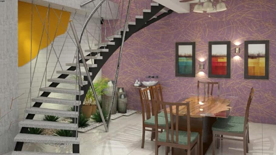 Duplex Stair Design 3D Warehouse | Duplex House Steps Design | New | Cement | Wood | Spiral Staircase | Steel