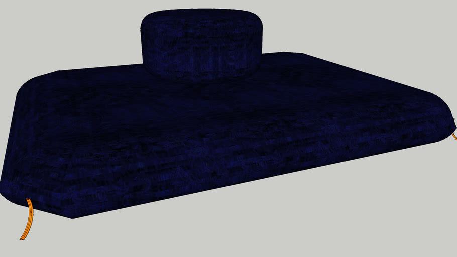 zen meditation pillow 3d warehouse