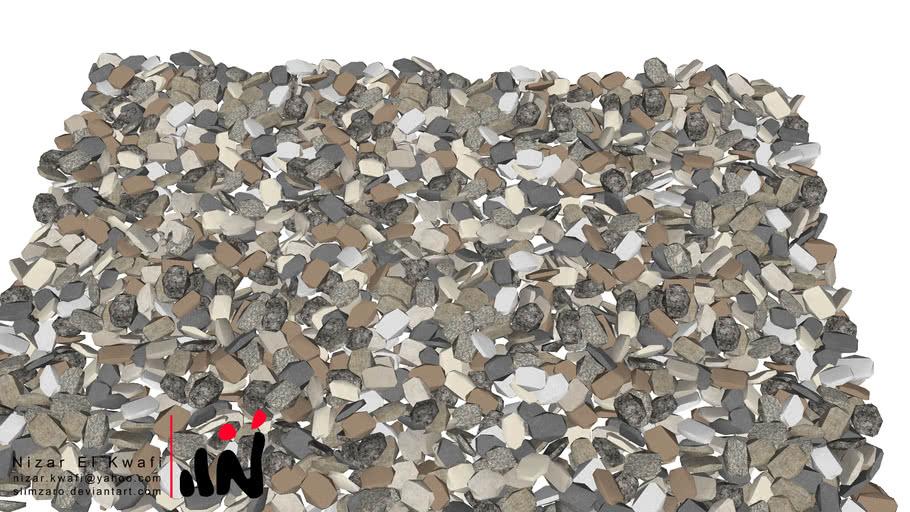 碎石 gravel | 3D Warehouse