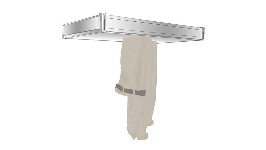 closet accessories pants rack 3d