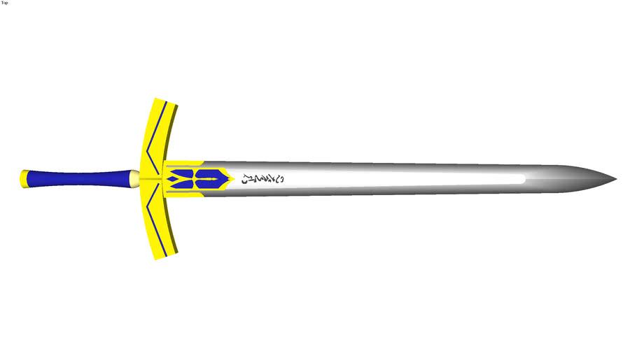 sword——Excalibur (fate)   3D Warehouse