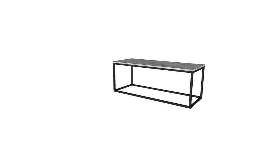 west elm box frame coffee table wide