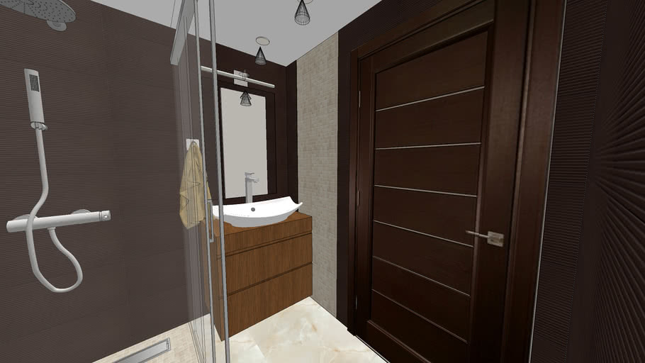 Small Bathroom 3d Warehouse