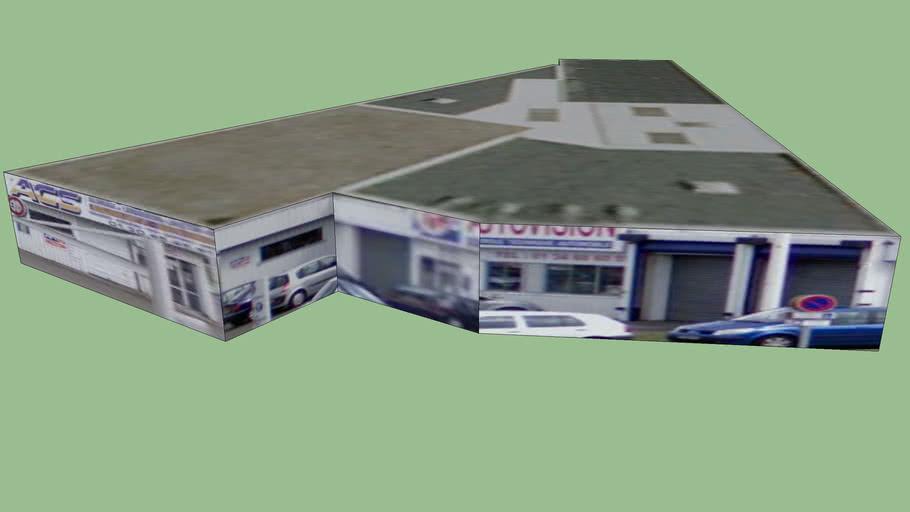Centre De Controle Technique Bois D Arcy 3d Warehouse