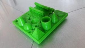 3D Printing Test - Resolving Stringing. Cura Settings