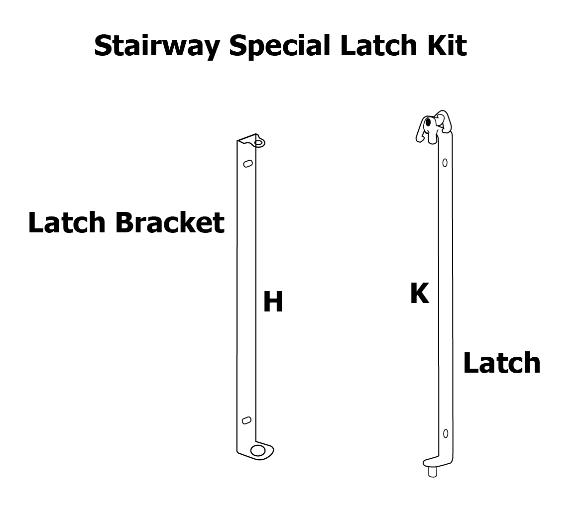hight resolution of stairway special latch stairway special latch