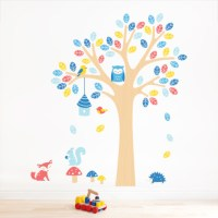 Nursery Tree Wall Sticker for Kids Room