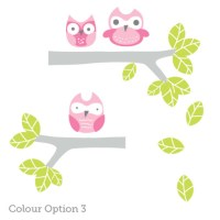 Owl Wall Decals for Nursery