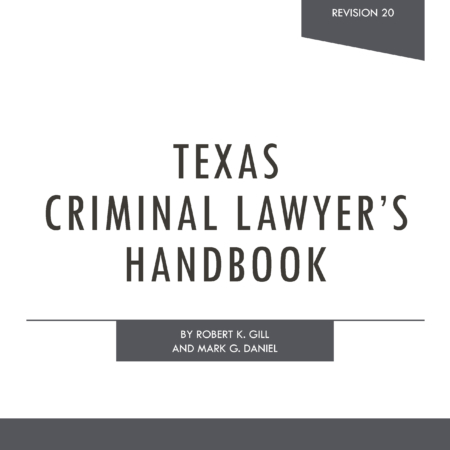 Texas Criminal Forms