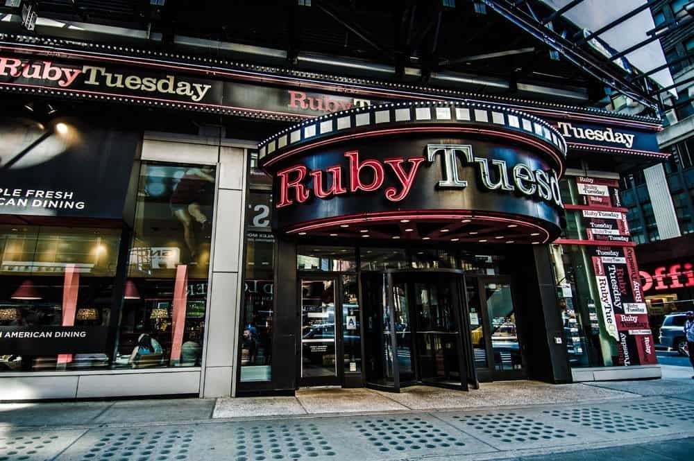 New Years Eve At Ruby Tuesday Times Square