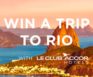 Accor Hotels Brazil Sweepstakes