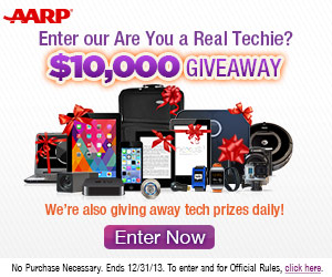 AARP Technology Giveaway