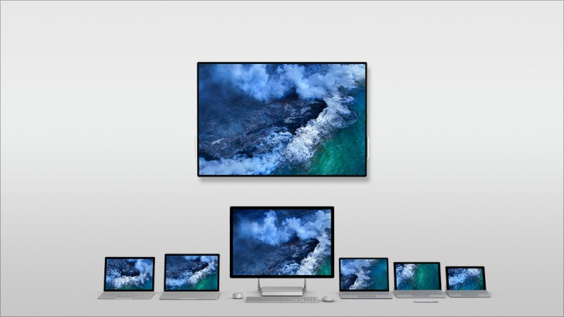 The Surface range of devices