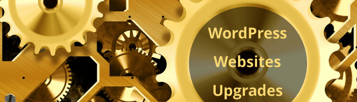 upgrade WordPress websites