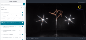Free pole dance classes Udemy 3