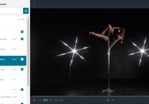 Free pole dance classes Udemy