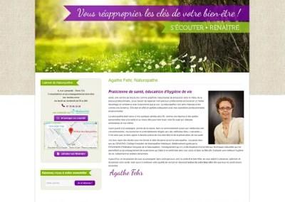 Agathe Fehr Naturopathe Bien être website