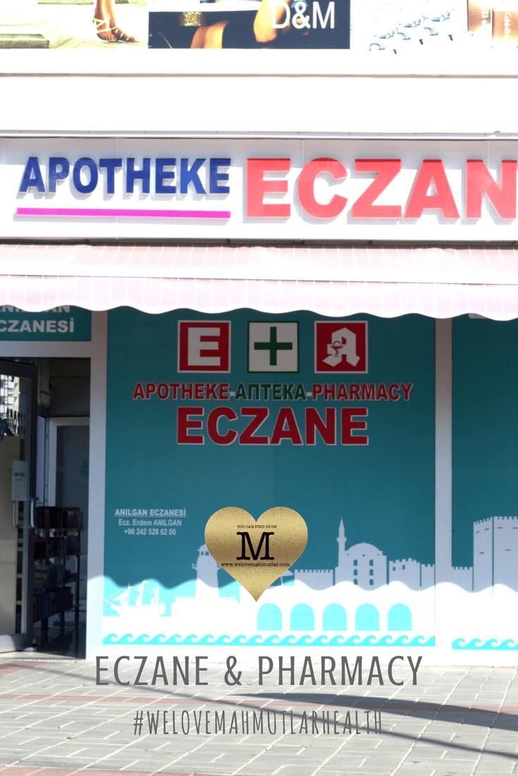 Eczane Pharmacy in Mahmutlar - Emergency Pharmacist