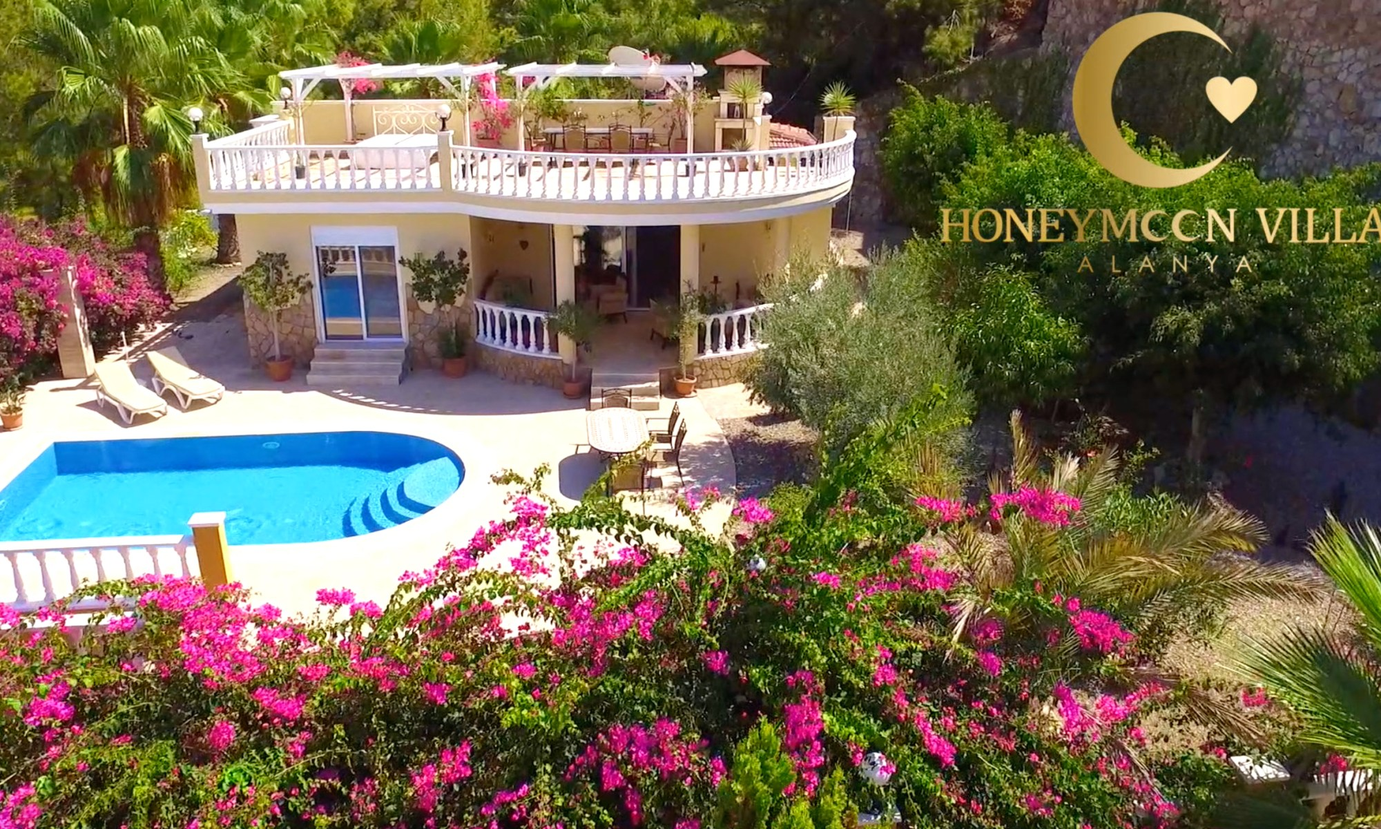 Honeymoon Villa Alanya - Villa Rental - We Love Mahmutlar