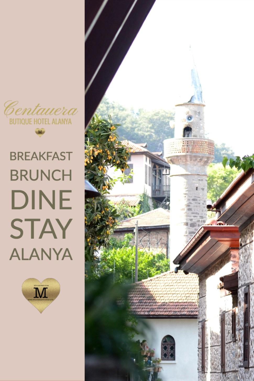 CENTAUERA BOUTIQUE HOTEL ALANYA - WE LOVE ALANYA & MAHMUTLAR