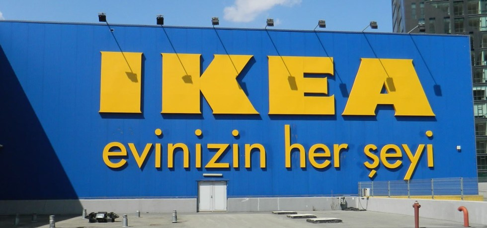 IKEA ANTALYA TURKEY DELIVERING TO MAHMUTLAR