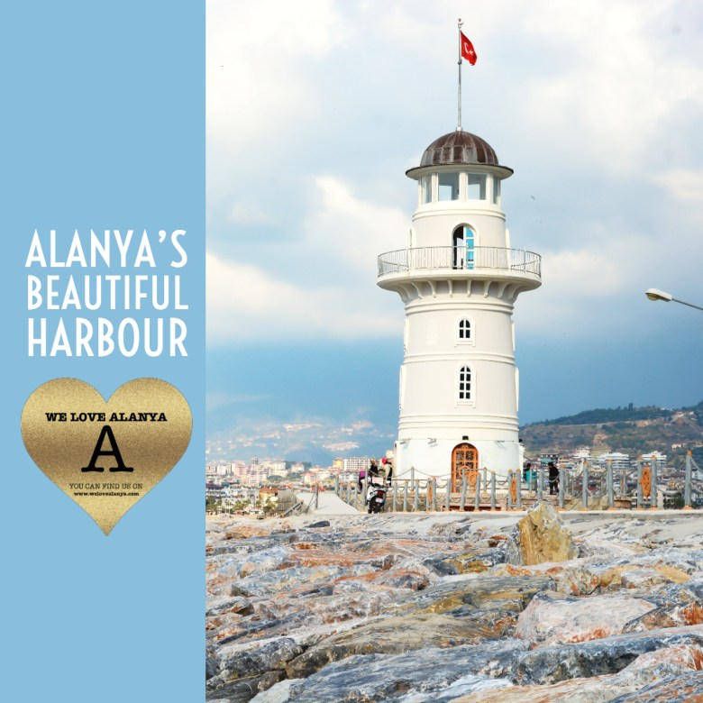 ALANYA GUIDE TO ALANYA HARBOUR - THE HARBOUR BY DAY - WE LOVE ALANYA