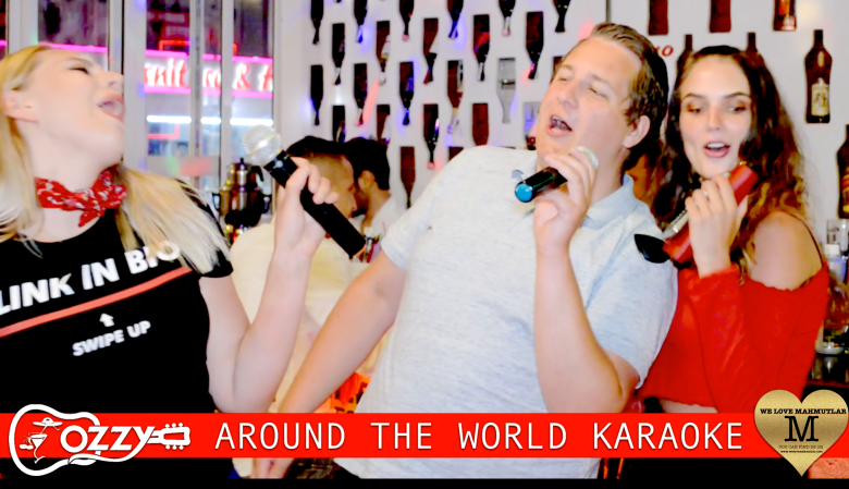 WE LOVE MAHMUTLAR OZZYS AROUND THE WORLD KARAOKE