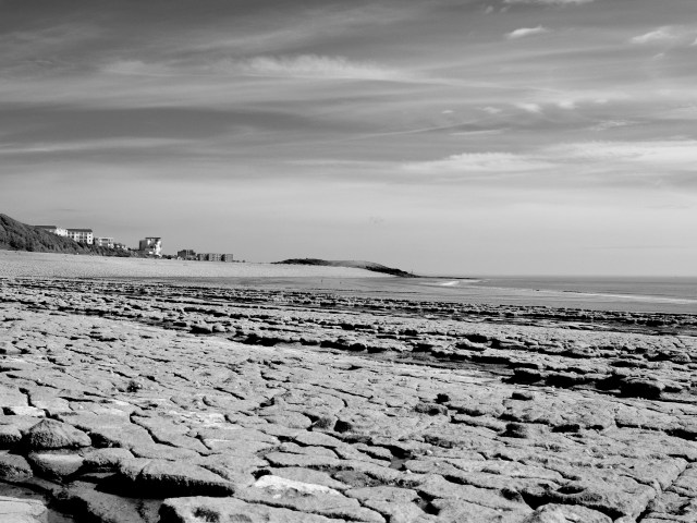 The Beach, Cold Knap in lockdown