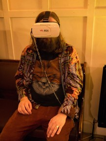 Virtual Reality - AC, 3EYE 2nd Birthday Spring Thing! The Rose Hill, 2017