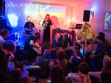 God's Teeth and The Interstellar Tropics with Gardyloo Spew, 3EYE 2nd Birthday Spring Thing! The Rose Hill, 2017