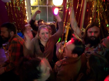 NYE - Our Glittery Futures, The West Hill, 2015/16