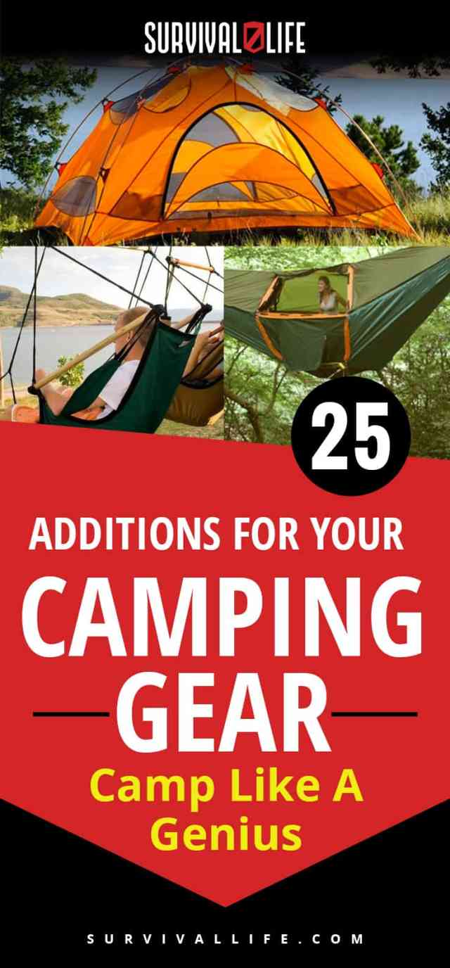 Infographic   Camp Like A Genius   Additions For Your Camping Gear