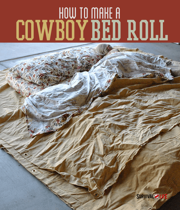 Placard   Cowboy Bed Roll Instructions For Comfortable Camping