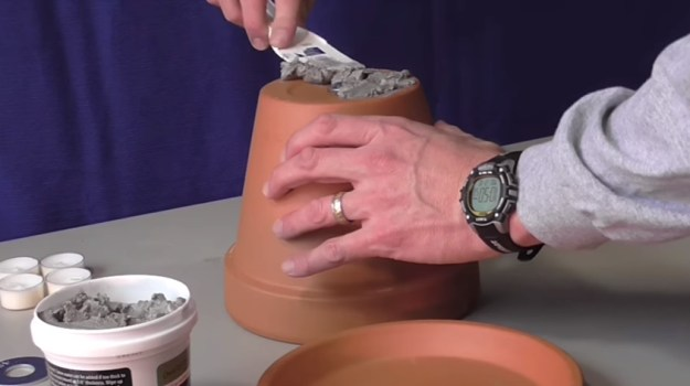 Furnace Cement for Saucer Plate | Warm a Room with Only a Candle and a Few Terra Cotta Pots