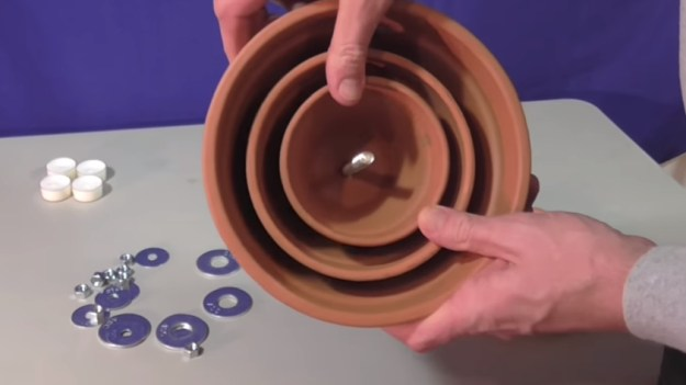 Place Final Pot | Warm a Room with Only a Candle and a Few Terra Cotta Pots