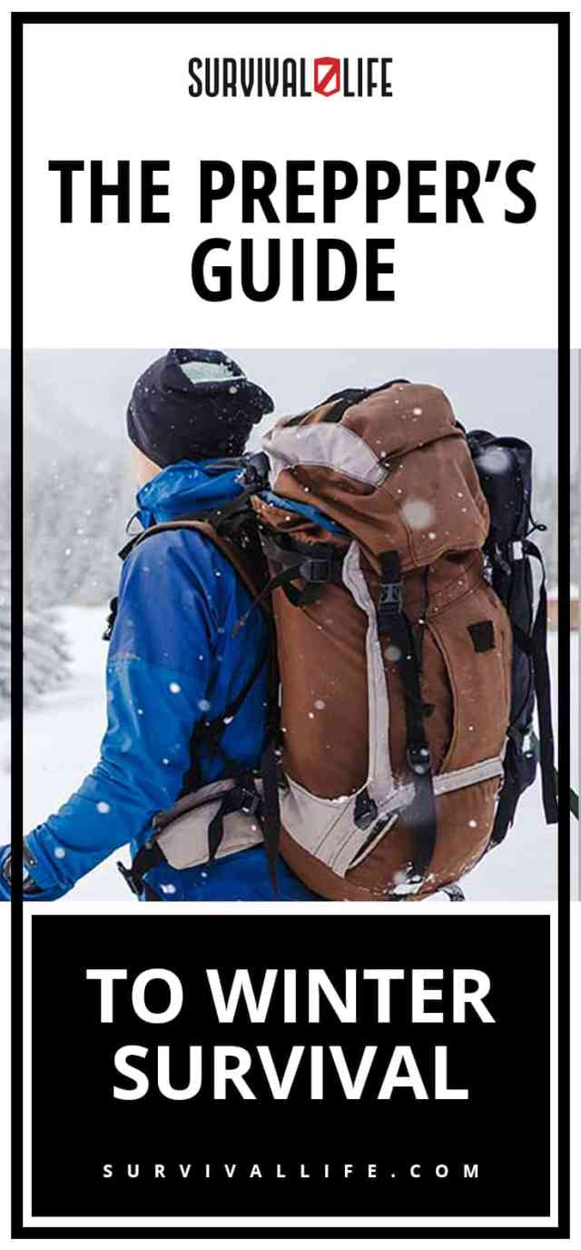 Placard | The Prepper's Guide To Winter Survival