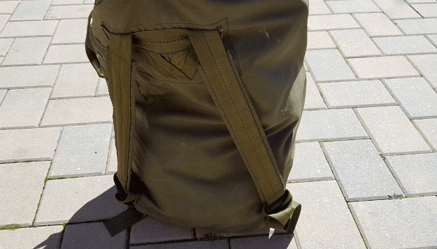 Can Be Carried Like a Backpack | A USGI Sea Bag: The Ideal Vehicle Go Bag For You