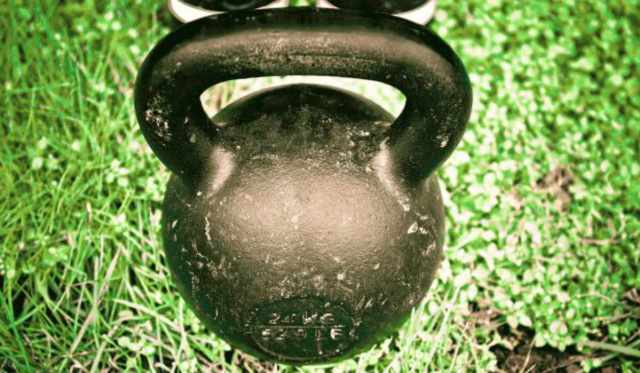 Focus on black kettlebell   Why The Kettlebell Is The Ultimate Tool For Physical Preparedness