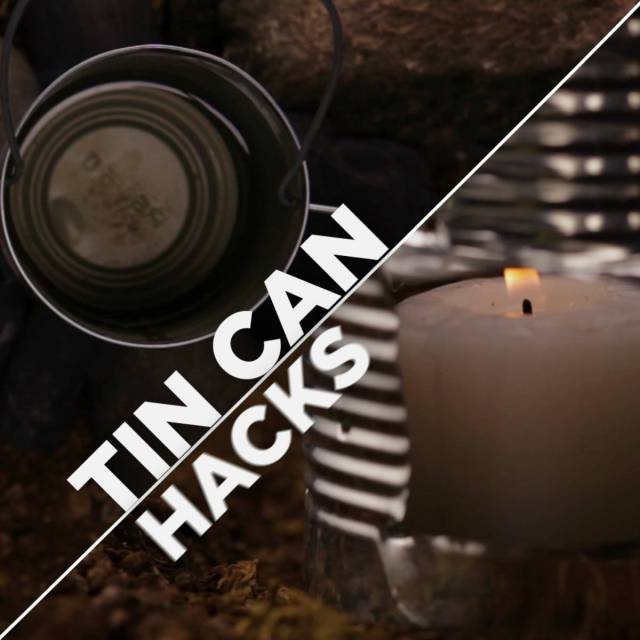 Tin can lantern stove | Surprising Survival Uses For A Tin Can