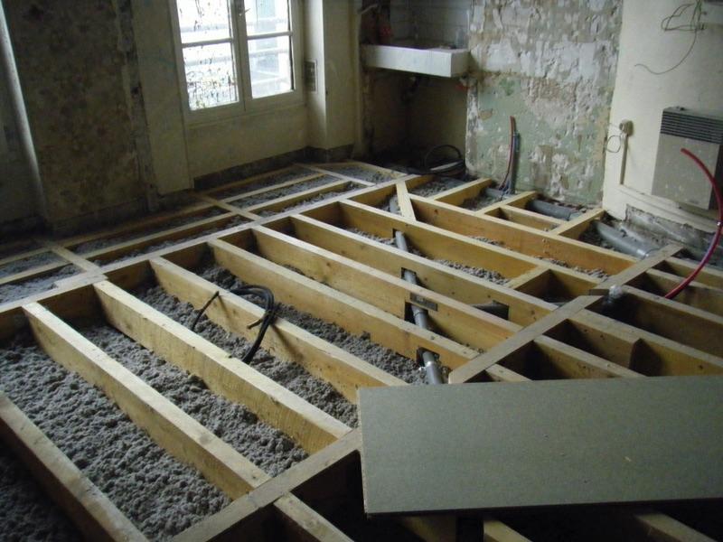 Cration plancher 77300 Fontainebleau  3FCONSTRUCTION